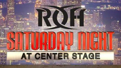 Watch ROH Saturday Night At Center Stage 1/11/20 – 11th January 2020
