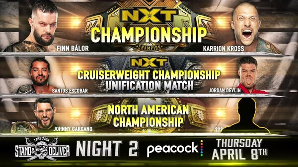 Night 2 – Watch WWE NxT TakeOver Stand And Deliver 4/8/21